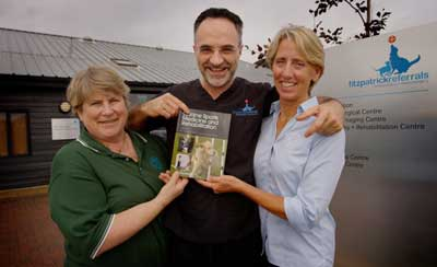 Drs. Chris Zink, Noel Fitzpatrick and Janet Van Dyke